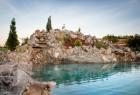 Jezerce i fontana od prirodnog kamena